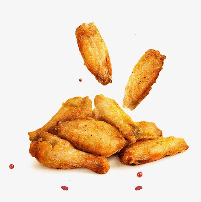 Golden Fried Chicken Wings Fried Chicken Wings Asian Fast Food Chicken Wings