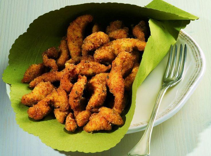 Straccetti di pollo croccante