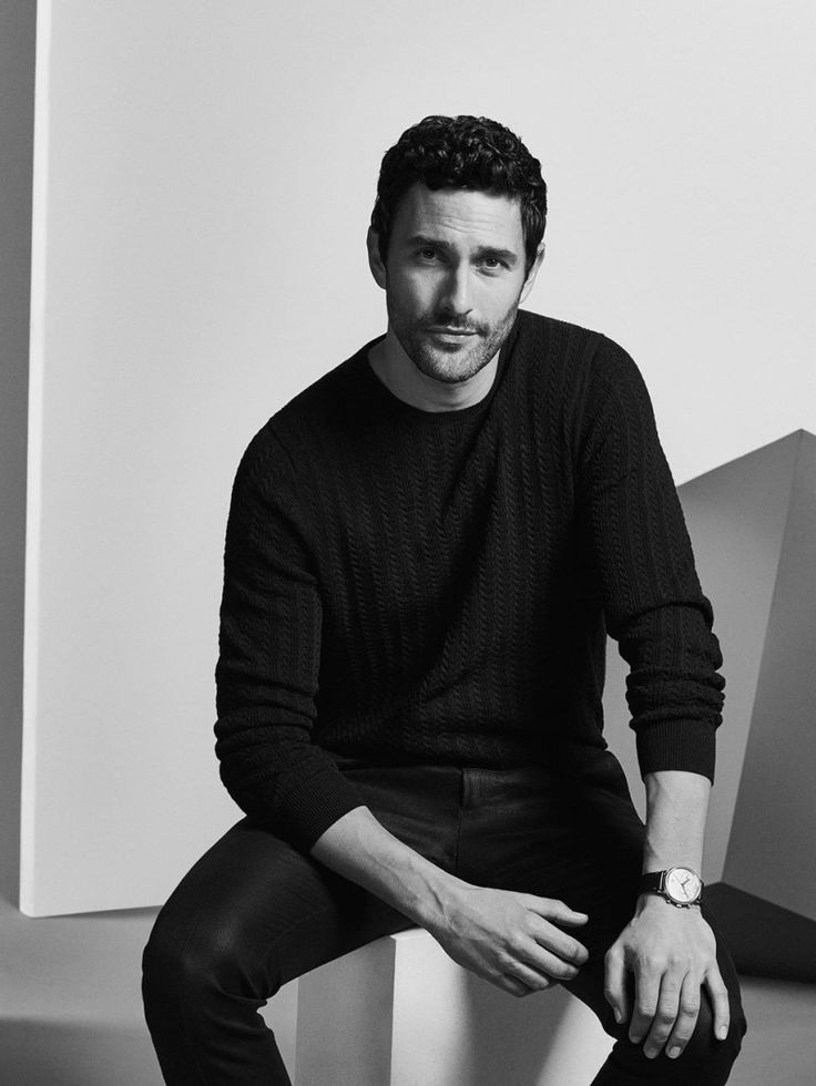 Noah Mills for Massimo Dutti Limited Edition SS 2017 Canadian actor