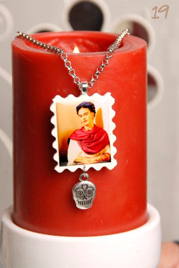 Frida Kahlo by Craftnity on Etsy, $20.00