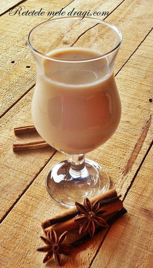 Chai Masala cu lapte de cocos   Retetele Mele Dragi