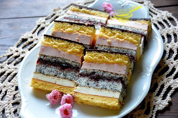Jak w tytule, lekkie, nie za słodkie i w sumie szybko powstaje, nie jest też kosztowne, a dobrze się prezentuje, zachęceni? :))) P.S Ciacho...