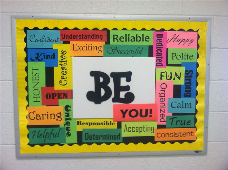 7th Grade Hall Bulletin Board!!