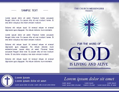 Best Church Bulletins And Program Templates Images On