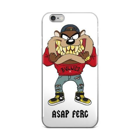 """Trap Lord"" A$AP FERG & Taz Rich Rapper Trap Music Gold Grill Cartoon Bullies Hip Gangsta Asap Mob Tasmanian Devil White iPhone 4 4s 5 5s 5C 6 6s 6 Plus 6s Plus 7 & 7 Plus Case - JAKKOUTTHEBXX - ""Trap Lord"" A$AP FERG & Taz Rich Rapper Trap Music Gold Grill Cartoon Bullies Hip Gangsta Asap Mob Tasmanian Devil White iPhone 4 4s 5 5s 5C 6 6s 6 Plus 6s Plus 7 & 7 Plus Case - JAKKOU††HEBXX - JAKKOUTTHEBXX"