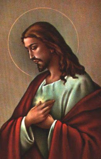 Ježiš Kristus. Sacred Heart.