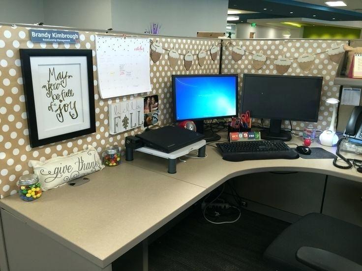 Decorate Office Space Cubicle Decor Office Work Office Decor Work Desk Decor