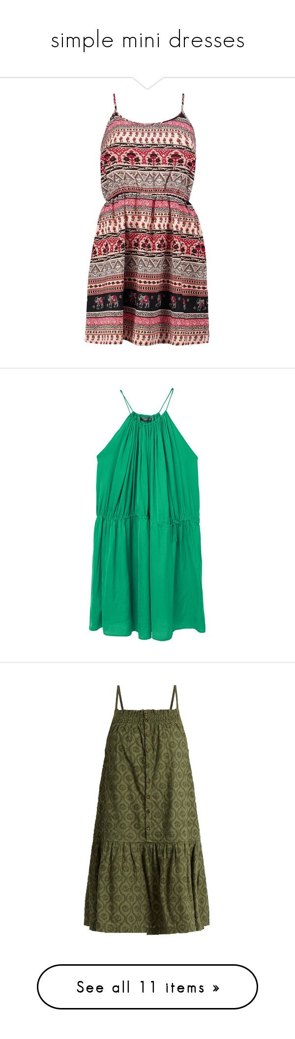 """""""simple mini dresses"""" by unicorntears01 ❤ liked on Polyvore featuring dresses, white skater dress, white cami, body con dress, bodycon mini dress, white dresses, green dress, halter neckline dress, halter dress and green halter dress"""