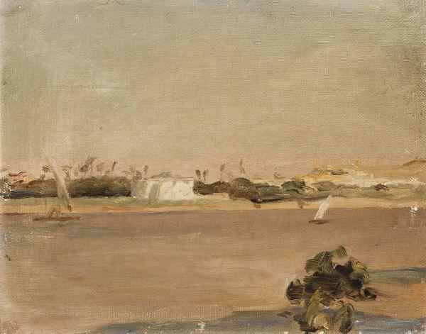 Koloryt Egiptu - Nil Z podróży do Egiptu - Jan Ciągliński