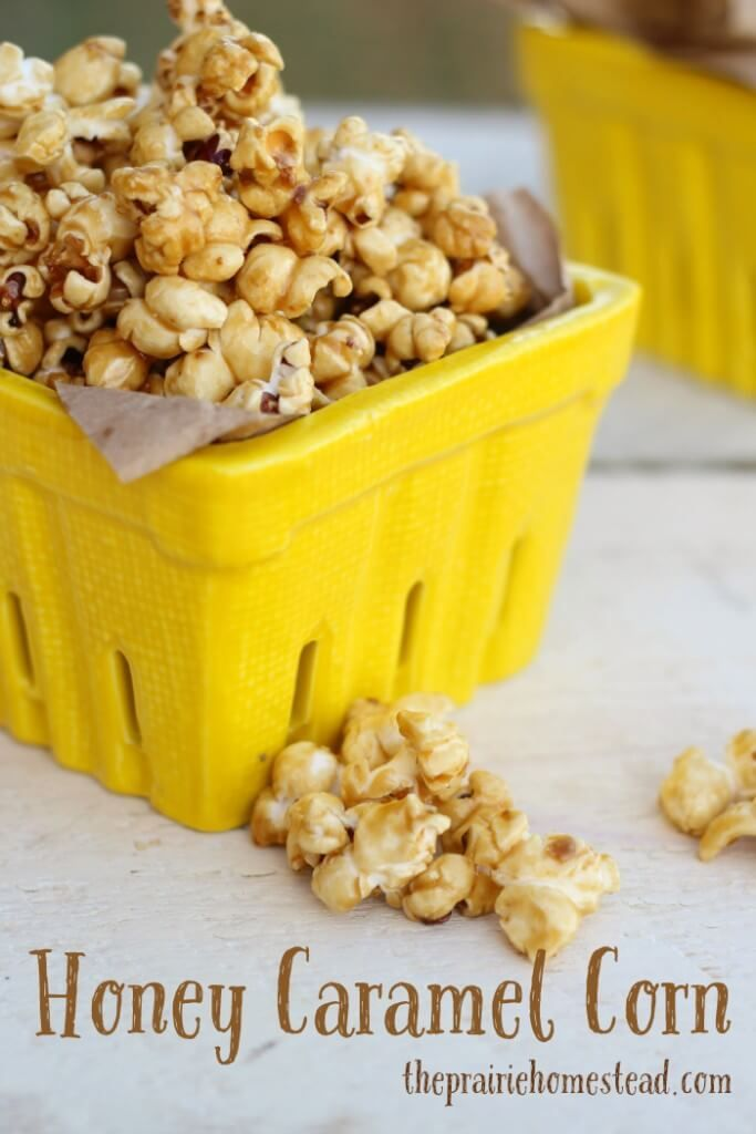 Make movie night extra sweet with this Honey Caramel Corn!