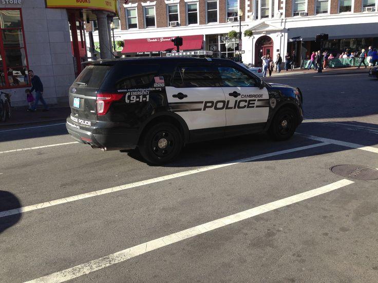 Cambridge Police Department Ford Police Interceptor Suv