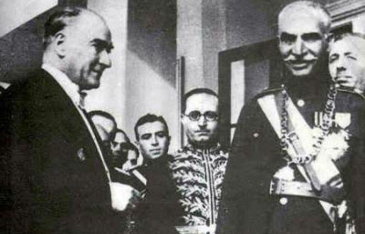Modern ve Bagimsiz Iran hayalini kuran ve temellerini atan Büyük/Baba/Rıza Şah/Atatürk ile