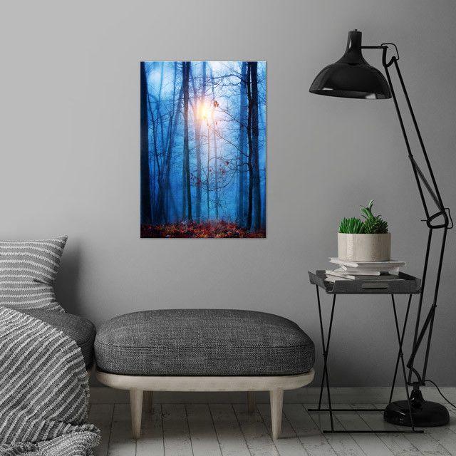 landscape nature blue sunrise woods forest fineart Landscape
