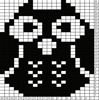 Tricksy Knitter Charts: Owl (48223)