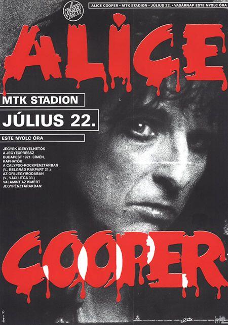 Alice Cooper 1990-07-22