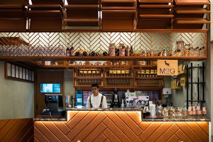 Coffee Shop Design Uses Chocolate Bars And Cocoa Beans As Inspiration Mindful Design Consulting Cafe Interior Design Coffee Shop Design Cafe Interior