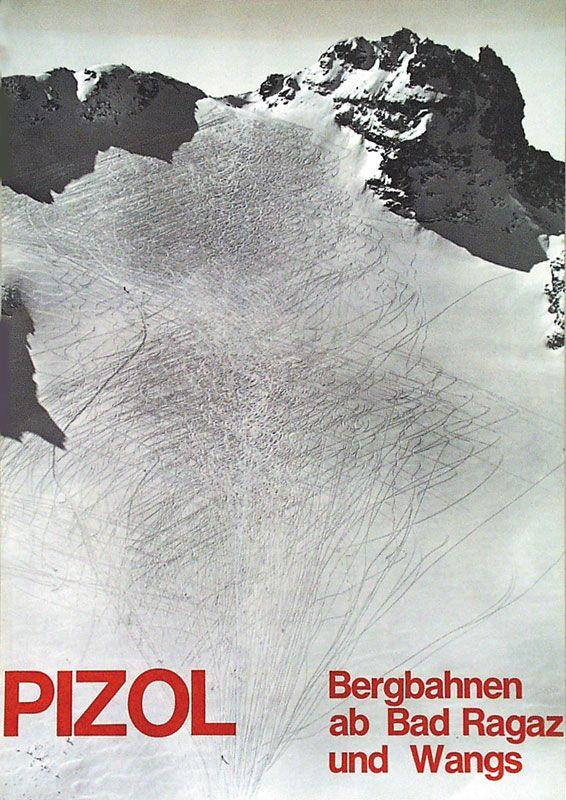 Les affiches touristiques suisses primées, 1942-1970 | Posters We Love - Le Blog