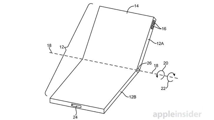 Future iPhones could fold in half
