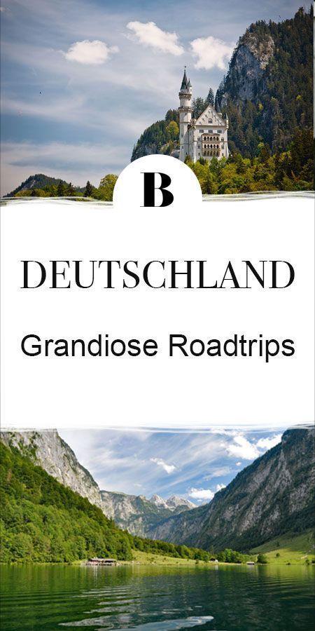 Los geht's !: 5 tolle Roadtrips durch Deutschland. Diese fünf Roadtrips …   – EUROPA Reiseziele