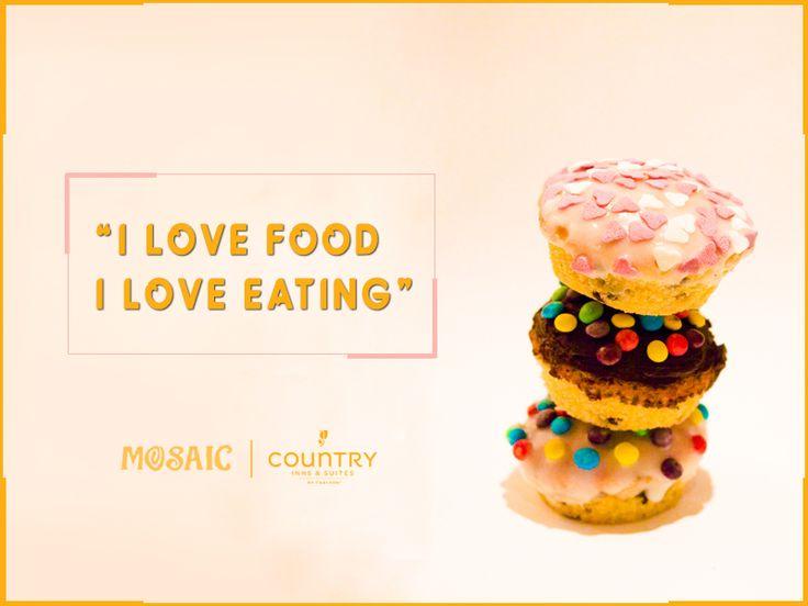 Have a Cool Weekend! #FestiveSeason #Foody #Mosaic