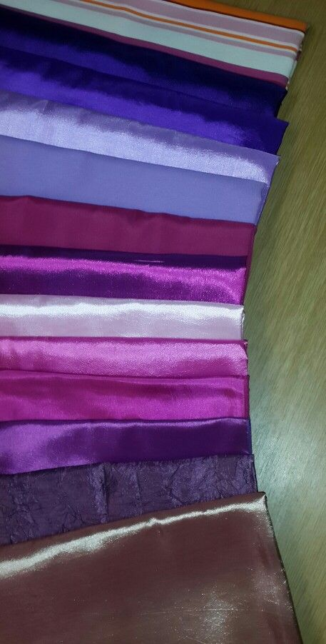 Variety of tiebacks and runners. www.csevents.co.za