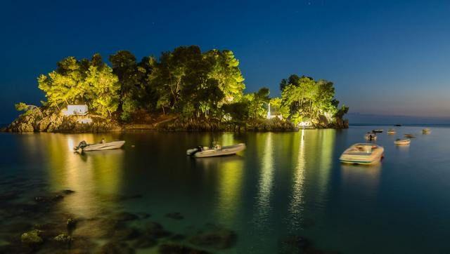 Το Νησάκι της Παναγίας στην Πάργα - Panagia island in Parga