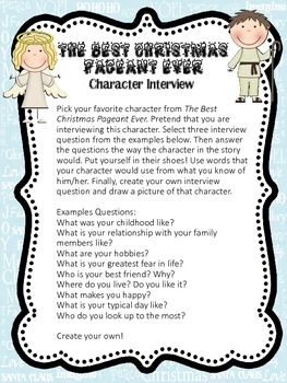 12 best Best Christmas Pageant Activities images on Pinterest ...
