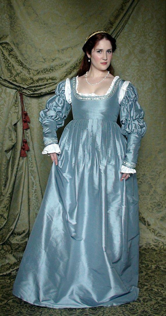 Fiaba Italian Renaissance Gown by DecosaDesign on Etsy, $560.00