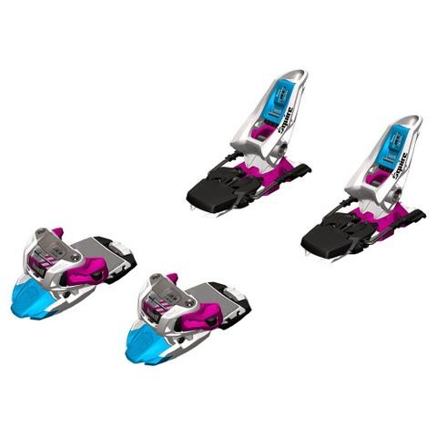 Marker Squire Ski Bindings ( 2014 / 2015 ) - White / Black / Magenta: The Squire suits the skier who wants a… #OutdoorGear #Camping #Hiking