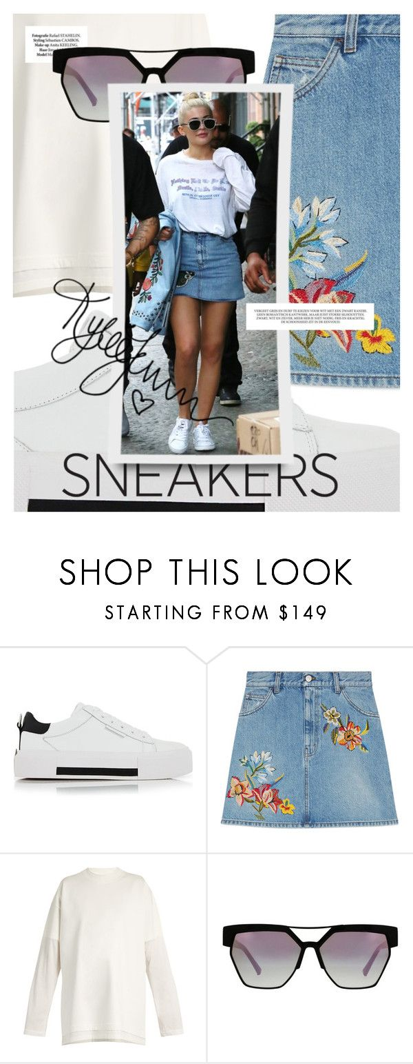So Fresh: Kylie Jenner by cultofsharon on Polyvore featuring moda, Vetements, Gucci and Kendall + Kylie