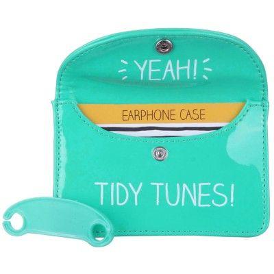 Tidy Tunes Earphone Case