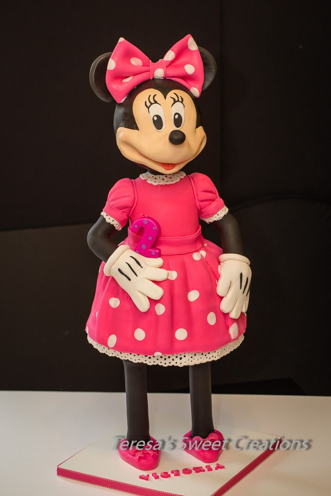 Minnie Mouse 3D cake :)