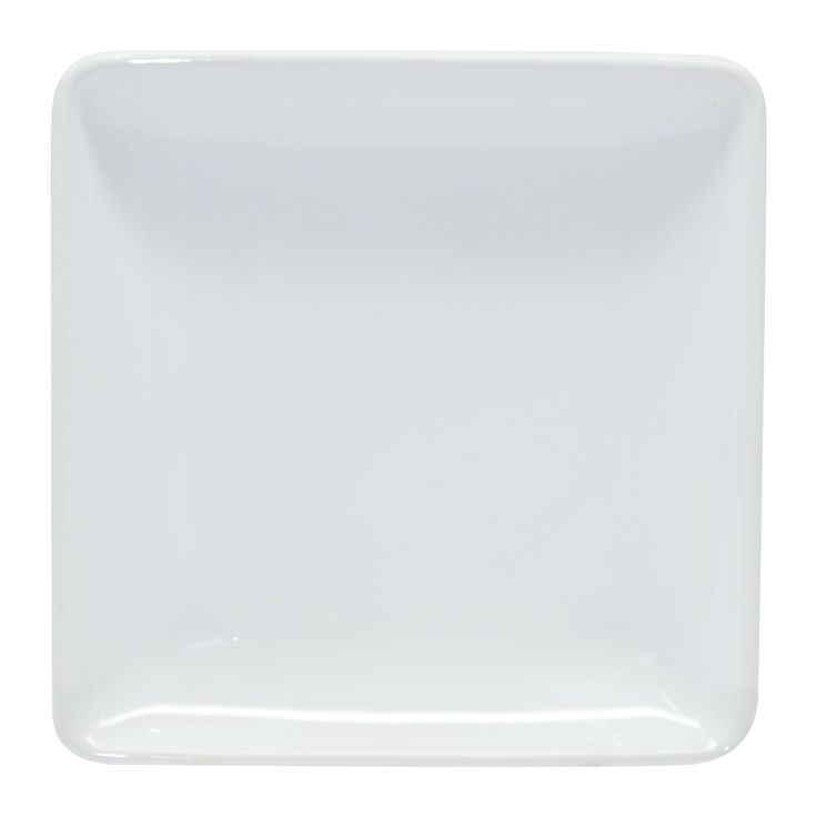 Complete your full-course dinner setup with the contemporary Square Porcelain Appetizer Plate from Threshold™. Made of tough, beautiful porcelain, this small, modern dish will take your dinner party to the next level by showcasing your starting food on its solid white background and keeping it secure with the gentle lip around the sides. Pick up this stunning appetizer dish and add a touch of elegance to your table without breaking the bank.