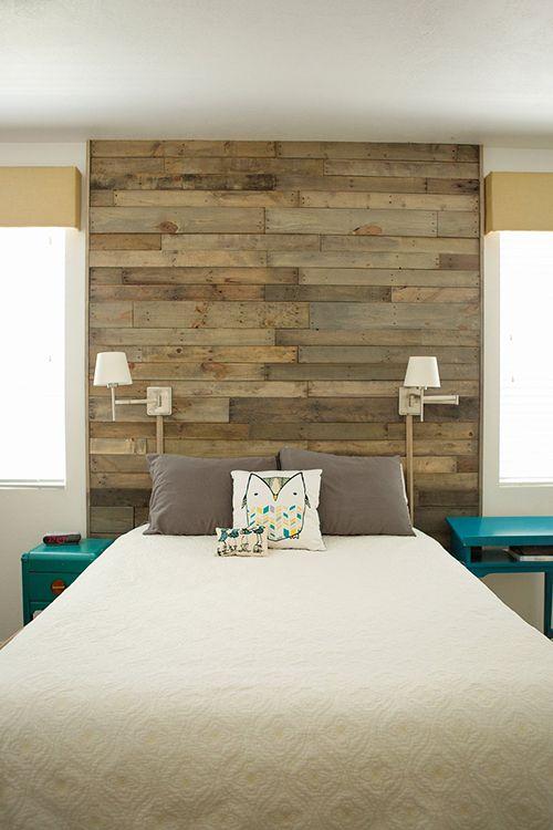 25 Best Ideas About Reclaimed Wood Headboard On Pinterest