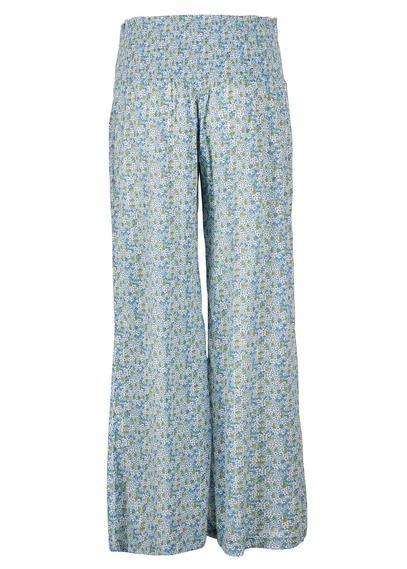 Pantalon large fluide imprimé Bleu by DENIM AND SUPPLY BY RALPH LAUREN