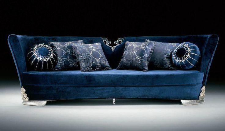 Image detail for -Blue Leather Sofa Latest Design Sofa Set (S012) - China Dubai Sofa ...