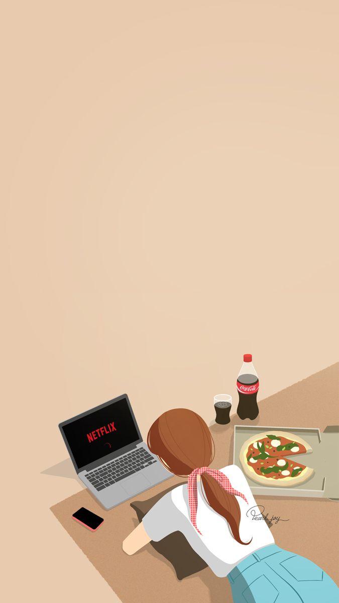 Pin Oleh Kim Hyun Ji Di Wallpapers Ilustrasi Digital Ilustrasi Ilustrasi Lucu