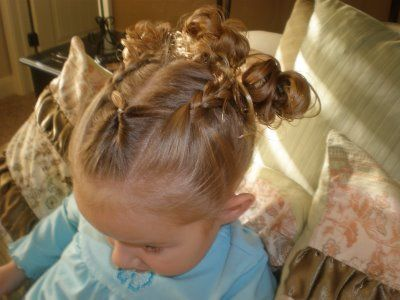 DARLING hair dos for little girls!!