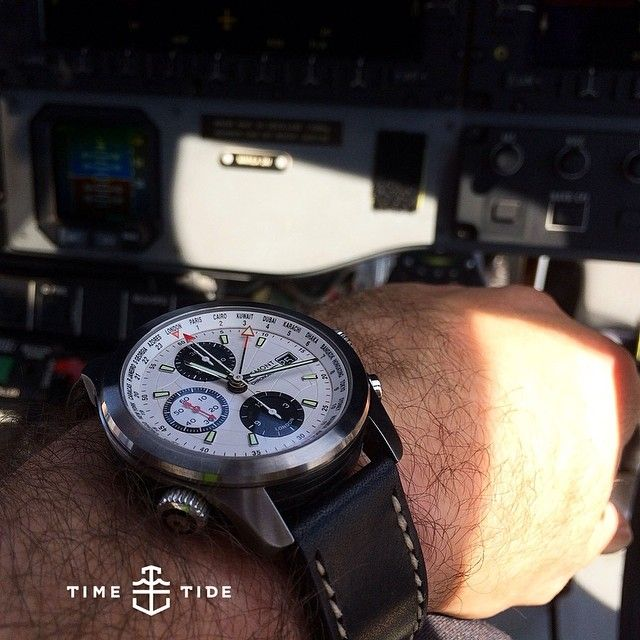 New FOLLOWER REVIEW now up on Time+TideMatt talks about his Bremont ALT1 World Timer and why it's the perfect watch for his work as a chopper pilot The most useful complication in a Pilot's watch is a GMT hand. Whilst useful for travel, it's purpose is served best in day to day flying activities, as all time in aviation is in GMT/UTC. This includes everything from weather forecasts to ETAs passed to air traffic controlRead the full story at timeandtidewatches.com