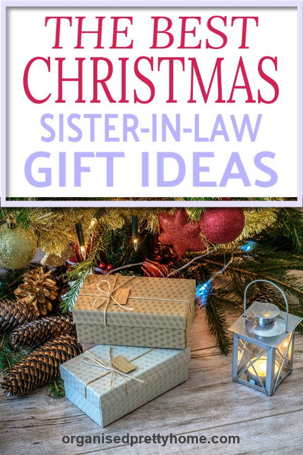 Love these gorgeous gift ideas for sister-in-law for Christmas. - Organised  Pretty Home birthday | sentimental | funny | birthday | sister | big |  little ... - 12 Best Gifts For Your Sister Or Sister-in-Law This Christmas