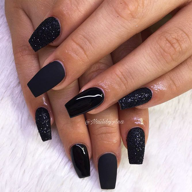 True Embellishments For Your Coffin Nails Luxury Nails Coffin Nails Designs Dark Nails