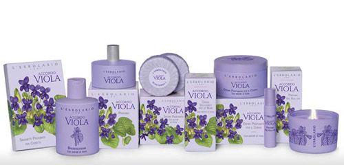 Accordo Viola Parfüm illatcsalád Lerbolario Naturkozmetikumok Magyarország