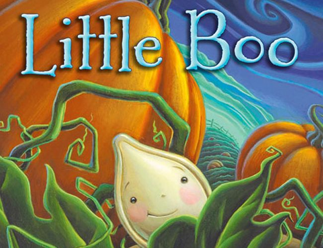 Do you have a child who is anxious to grow up?  Little Boo is a fun and exciting story about patience. The rosy-cheeked pumpkin seed will put a smile on your child's face.