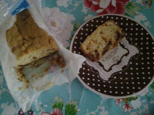 Stroopwafels cake met stukjes karamel