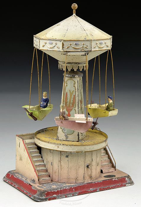 Doll et Cie windup carousel