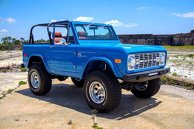 Velocity Restorations – Classic Ford Bronco for Sale & Restorations