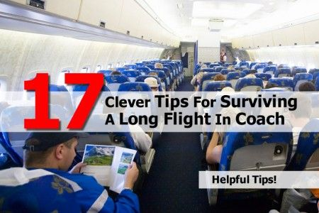 17 Clever Tips For Surviving A Long Flight In Coach