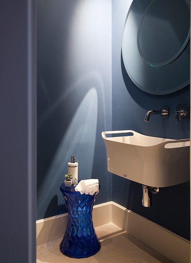 25 melhores ideias sobre banheiros azul marinho no