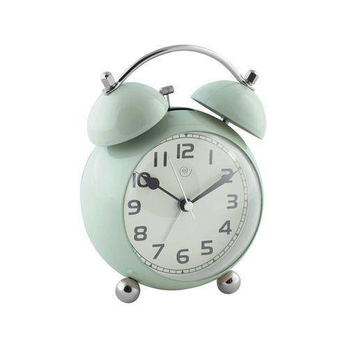 OROLOGIO SVEGLIA M551 - sveglia vintage in metallo con movimento continuo e silenzioso e suoneria su campane - vintage metal alarm clock with sweep movement and bells ringtone #mascagni #mascagnicasa