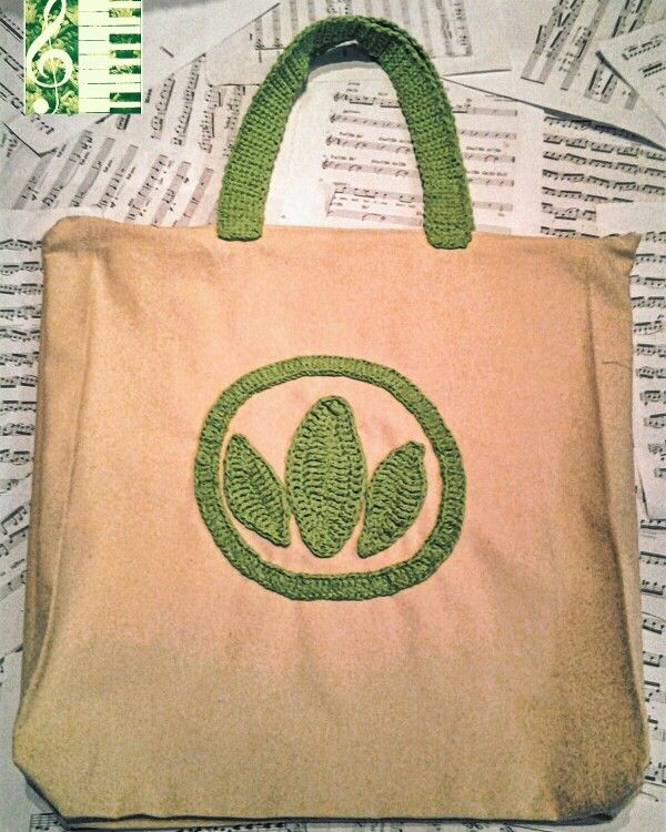 25$ canvas crochet bag herbalife